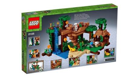 La casa del árbol en la jungla: set de LEGO Minecraft por 56,99 euros en Fnac