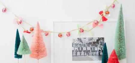 Guirnalda y collar de chocolate, un DIY dos en uno, dulce y muy navideño