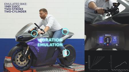 Emula Moto Electrica Sonido Motor Gasolina 2