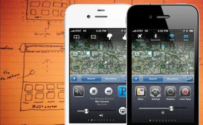 Rediseñando la barra multitarea del iPhone