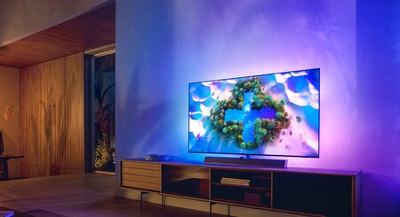 Philips anuncia el televisor OLED+936: panel OLED 4K con sistema anti-quemado y barra de sonido de Bowers & Wilkins