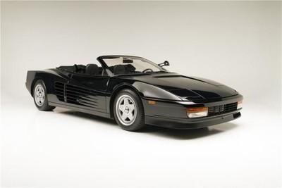 A subasta un Ferrari Testarossa conducido por Michael Jackson, Beat It!