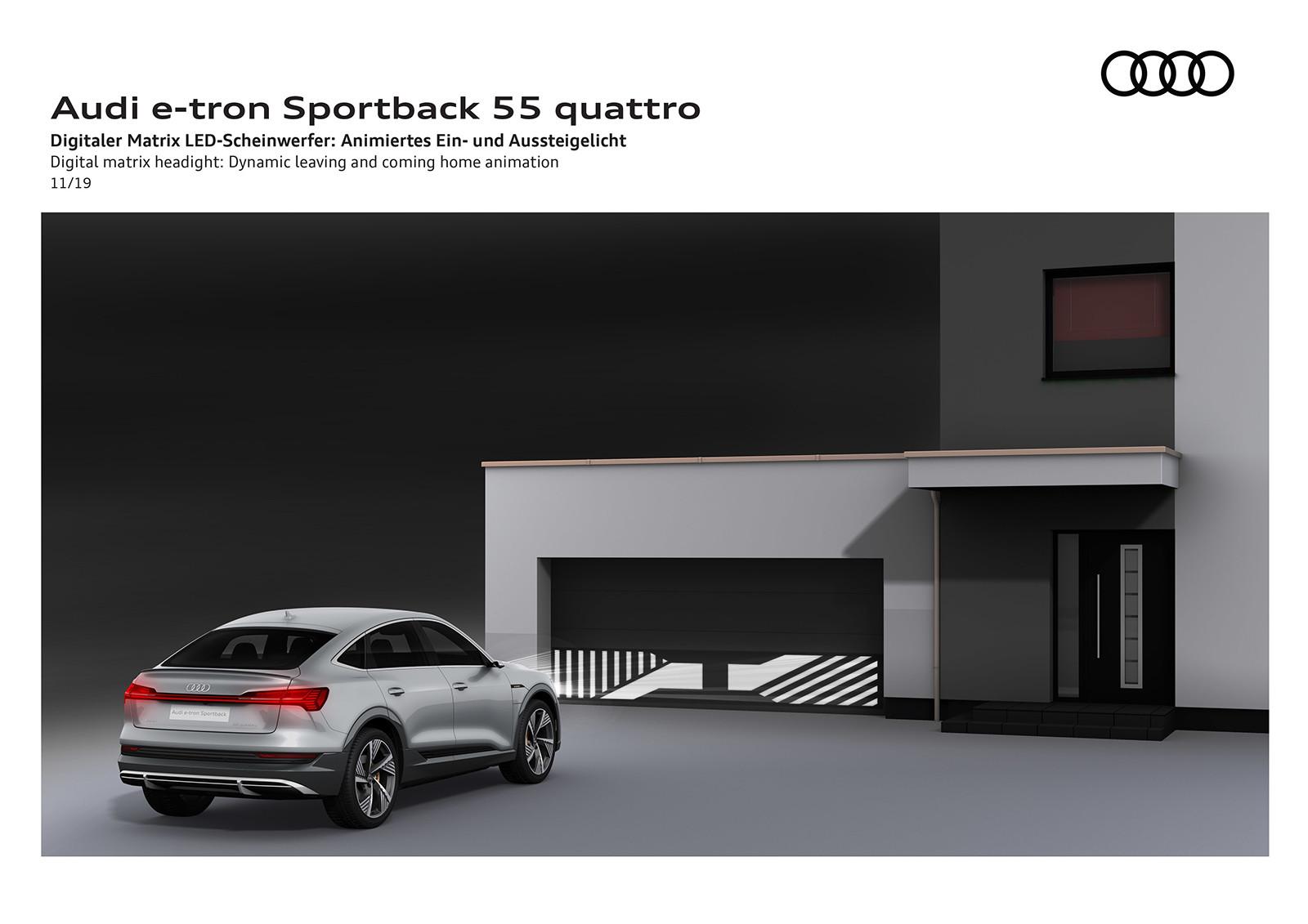 Foto de Audi e-tron Sportback (55/57)