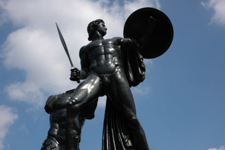 Statue Of Achilles Geograph Org Uk 397793