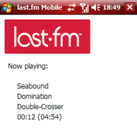 Last.fm Mobile para Windows Mobile