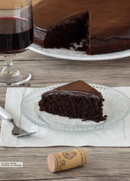 Pastel de chocolate y vino tinto: receta para amantes del chocolate más intenso