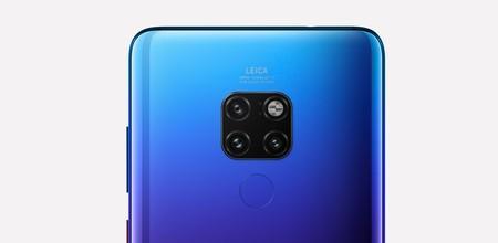 Huawei Mate 20 Camara