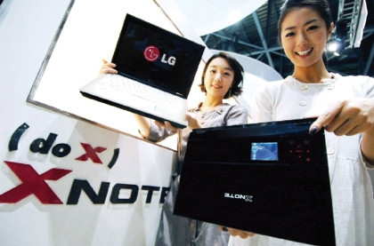 LG XNOTE R200, con Sideshow
