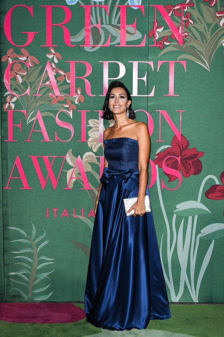 Caterina Balivo green carpet fashion awards 2019