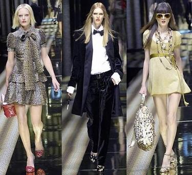 D&G en la Semana de la Moda de Milán Otoño/Invierno 2007/08