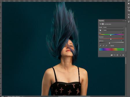 Pintar el pelo en photoshop