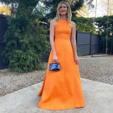 Este es el vestido (naranja) de Laura Dern que ha enamorado durante los Critics' Choice Awards 2020