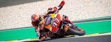 Estas son las diez mejores salvadas de la historia del Campeonato del Mundo de MotoGP