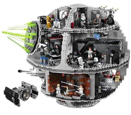 La Estrella de la Muerte en Lego. Sí, en Lego