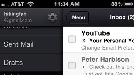 La aplicación de Gmail para iOS recibe una ligera actualización