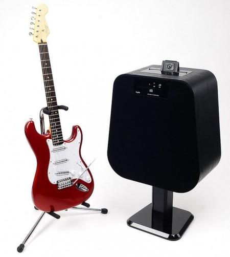 NYNE NH-6500, el dock para móviles que funciona como amplificador de guitarra