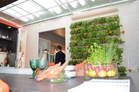 Verde en la cocina