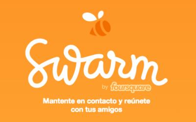 Swarm, la nueva aplicación de Foursquare, ya está disponible