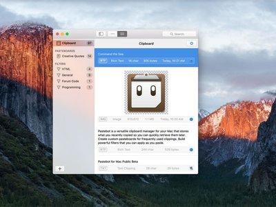 Pastebot para Mac: los creadores de Tweetbot buscan ofrecer el gestor de portapapeles más potente para macOS