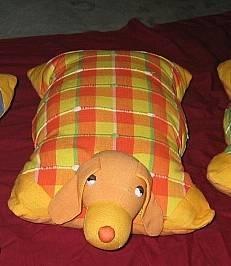 Precioso muñeco para guardar el pijama