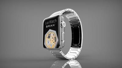 Brikk anuncia una versión de diamantes del Apple Watch que podría llegar a costar 75.000 dólares