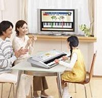 Casio LK-202TV, teclado que te enseña en el televisor