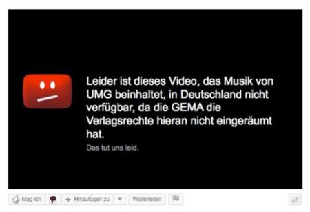 YouTube pierde el juicio ante la 'SGAE' alemana