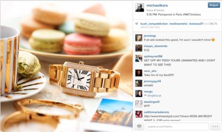 Instagram lanza su primera publicidad de la mano de Michael Kors