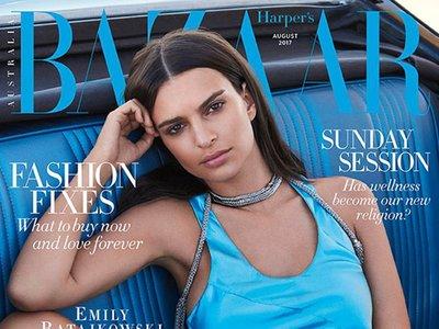 El mes de agosto cada día está más cerca y las revistas de moda se ponen las pilas con sus portadas
