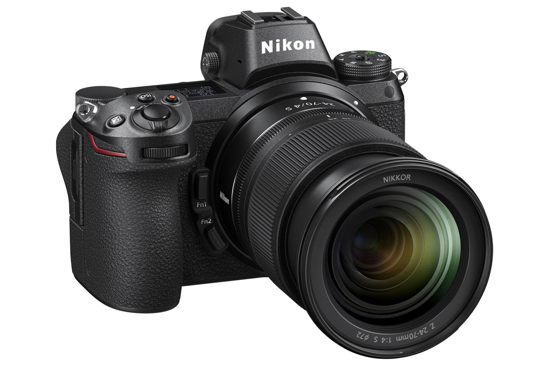 Cámara Nikon Z7 (cuerpo solo) y adaptador Nikon FTZ