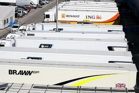 Brawn GP sigue asustando durante los tests en Jerez