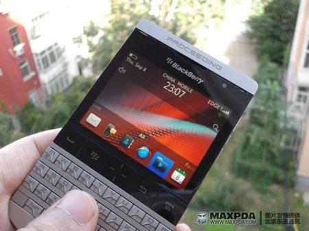 Misteriosa BlackBerry aparece en escena, ¿prototipo diseñado por Porsche?