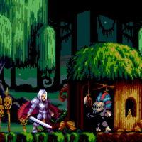 Mega Drive amplía su catálogo con Demons of Asteborg, un juego que bebe mucho de Castlevania y Ghouls'n Ghosts