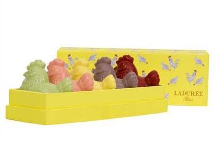 Propuestas de chocolate de Ladurée y Godiva para Pascua