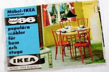 El catálogo de Ikea de 1965