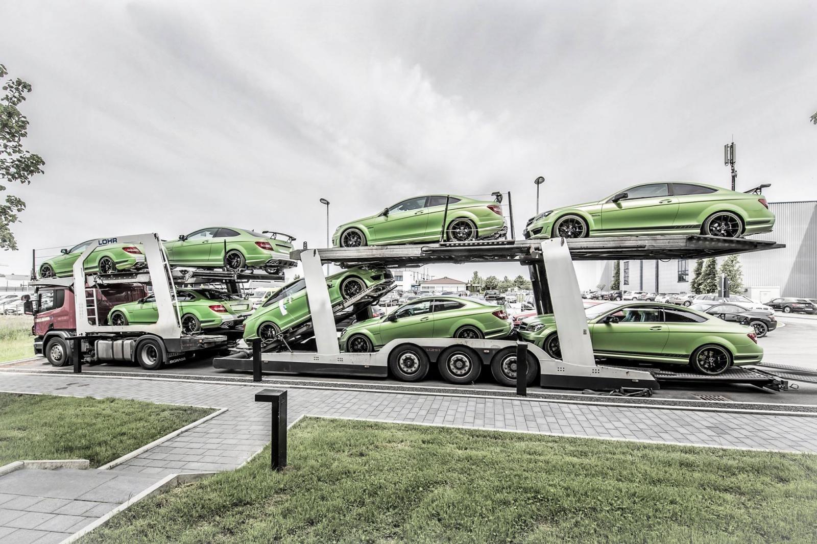 Foto de Mercedes C63 AMG Coupe Legacy Edition (24/26)