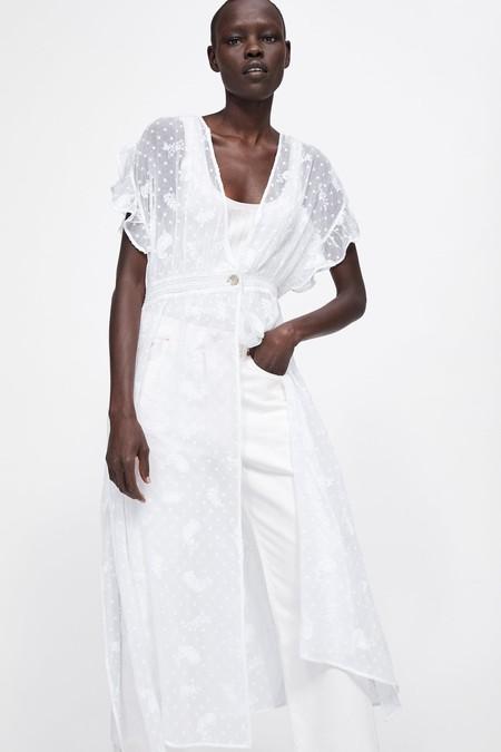 Zara Vestidos Primavera 2019 09