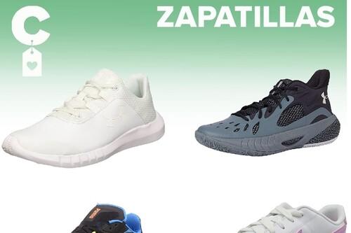 Chollos en tallas sueltas de  zapatillas Nike, Under Armour o Puma por menos de 40 euros  en Amazon