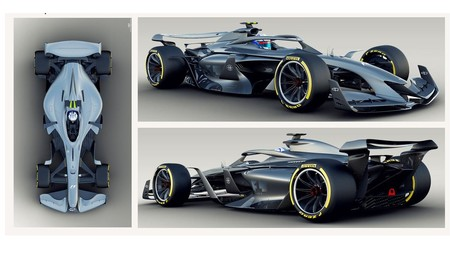 Prototipos F1 2021 Concepto 3