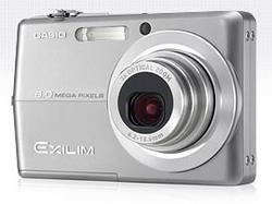Casio Exilim EX-Z600, con pantalla de 2.7 pulgadas