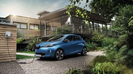 Renault Zoe Azul