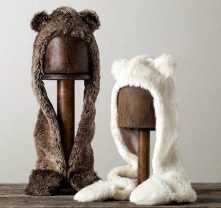 Abriga a tus peques con una capucha de oso
