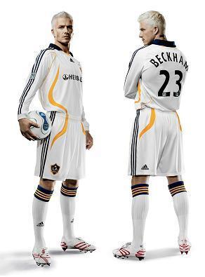 El nuevo uniforme de David Beckham para el LA Galaxy