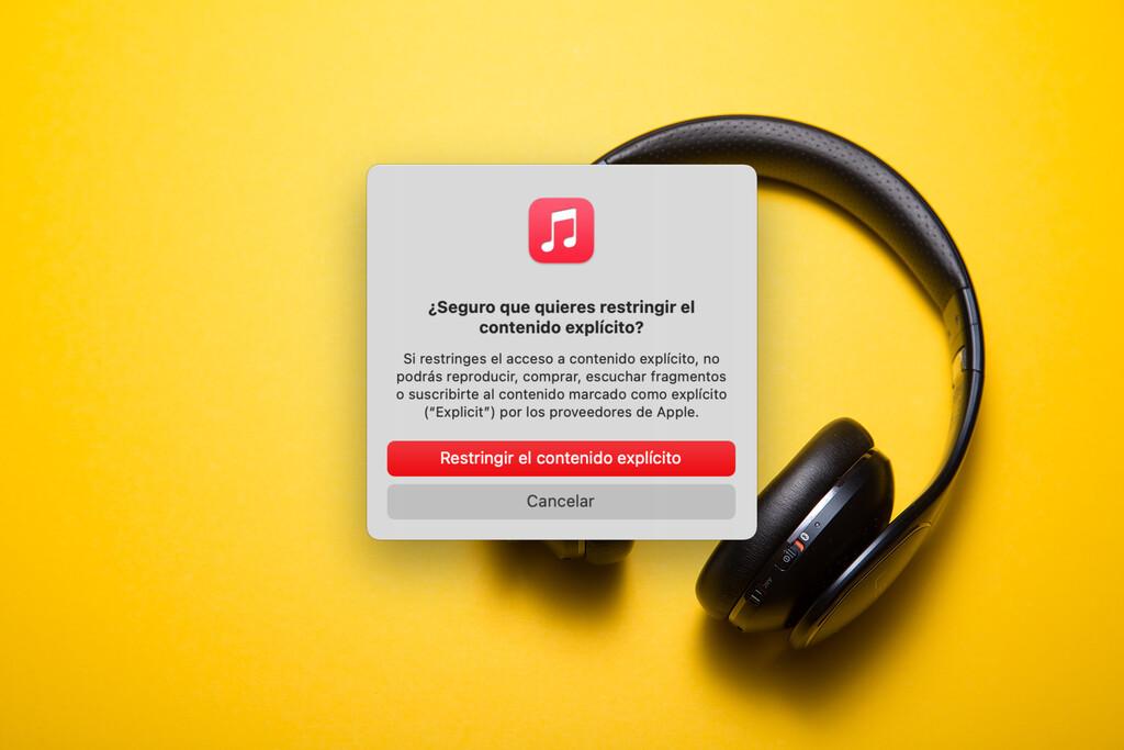 Cómo impedir la reproducción de música con contenido explícito en vuestro iPhone, iPad u Mac™