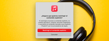 Cómo impedir la reproducción de música con contenido explícito en nuestro iPhone, iPad o Mac