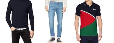 Ofertas en tallas sueltas de polos, sudaderas y pantalones Jack & Jones, Levi's o Geographical Norway en Amazon