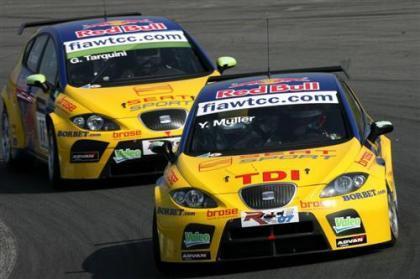 Doblete para SEAT en la primera carrera de Curitiba