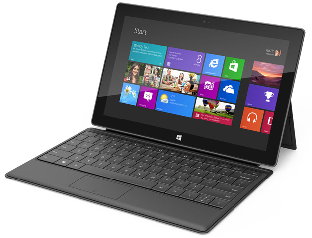 Tablet Surface con Windows 8