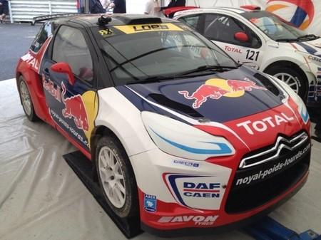 Sébastien Loeb prueba su nuevo Citroën DS3 RX para el Europeo de RallyCross