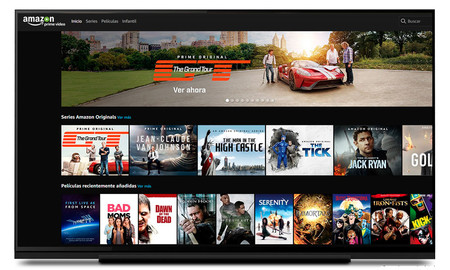 La app de Amazon Prime Video llega a Android TV, pero a medias